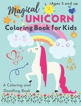 Magical Unicorn Coloring Book For Kids: Doodle Coloring Book