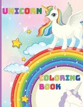 Unicorn Coloring Book: For Kids Ages 4-8, Cute Unicorn, Activity Book, Magic For Boys and Girls