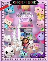 Gabby's Dollhouse Coloring Book