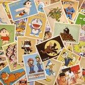 Kaartenset Cartoon - 32 stuks - Vintage Kaarten Stripfiguren
