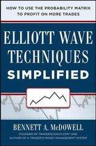 Boek cover Elliot Wave Techniques Simplified van Bennett Mcdowell