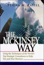 Boek cover McKinsey Way van Ethan Rasiel (Hardcover)