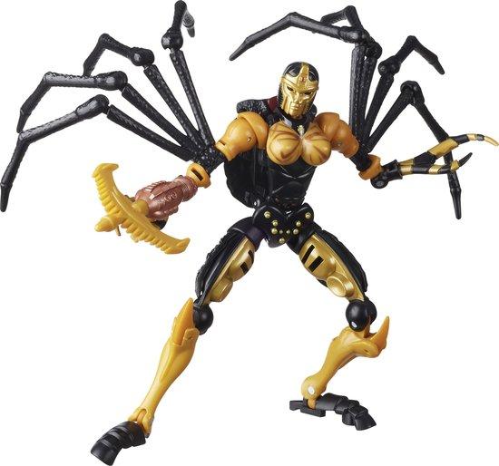 Afbeelding van Transformers Generations War for Cybertron Kingdom Deluxe Black Arachnia - Speelfiguur speelgoed