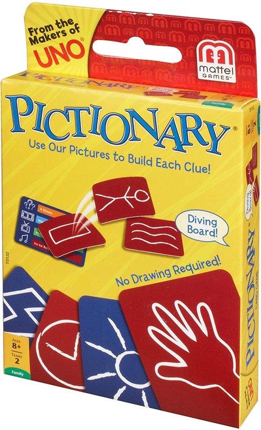 Afbeelding van het spel Pictionary - Kaartspel - Engelse Versie