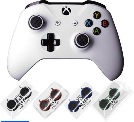 Holy grips - Joystick thumbgrips - Xbox One - Playstation PS4 PS5 - Wit Zwart