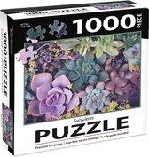 Succulents Puzzel - 1000st