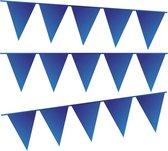 e-Carnavalskleding.nl Vlaggenlijn donker blauw | donker blauwe slinger 10 meter