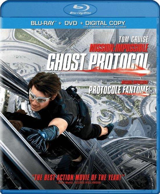 Cover van de film 'Mission: Impossible 4 - Ghost Protocol'