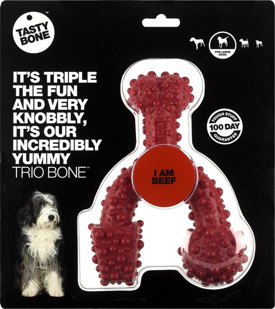 Tasty Bone Trio Bone - Rund - Large