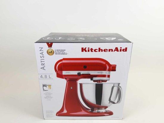 KitchenAid Artisan KSM175PSECA - Keukenmachine - Empire Red