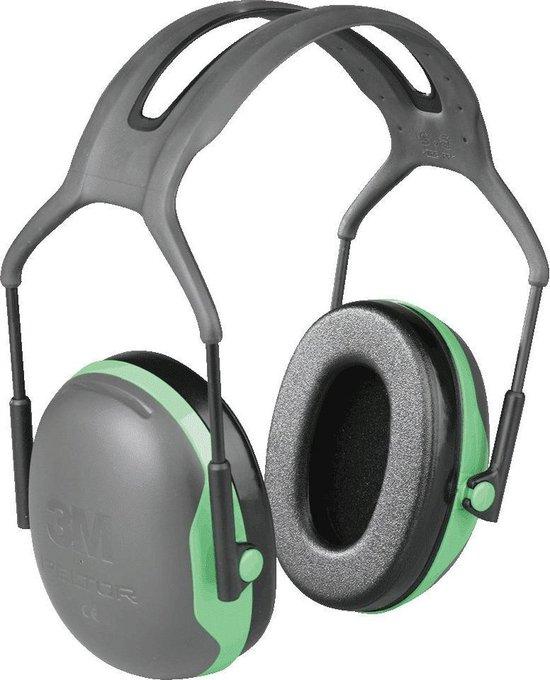 Peltor X1 gehoorbeschermerOorkappen 3M Peltor X1A, met hoofdband