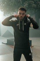 Malelions Sport Coach Hoodie - Army/White - L