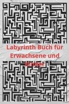 Labyrinth Buch für Erwachsene und Kinder: Spaß und herausfordernde Labyrinthe für Kinder, Jugendliche und Erwachsene Ein erstaunliches Labyrinth-Aktiv