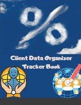 Client Data Organizer Tracker Book