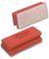 Vileda spons Glitzi Quattro rood pak van 10 stuks