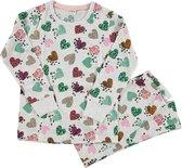 Zeeman kinder meisjes pyjama - zand- maat 122/128