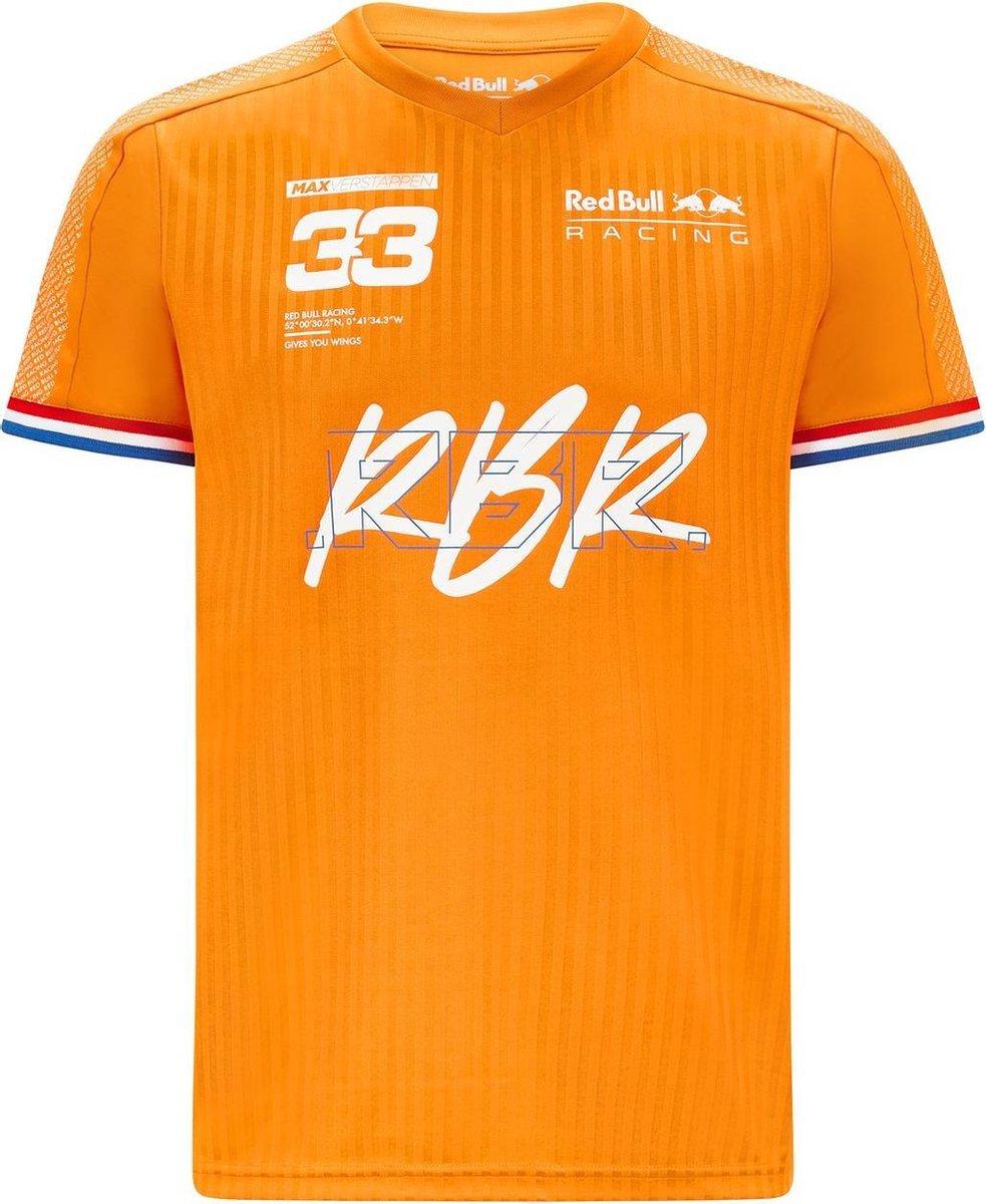 Red Bull Racing Verstappen Sportswear Tee L orange