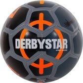 Derbystar Street Soccer Ball 80005137  - Zwart - Maat 5