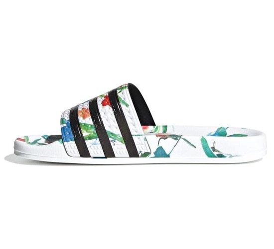bol.com | adidas ADILETTE W Dames Slippers - Ftwr White/Core ...
