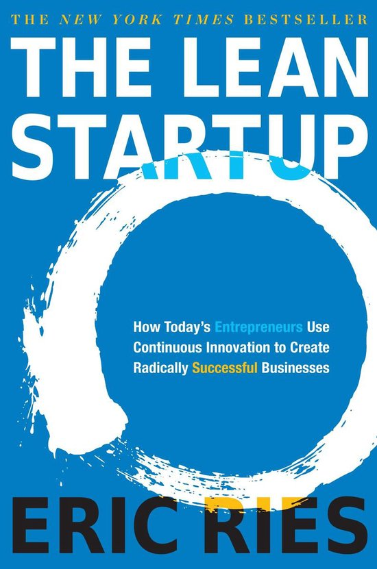Boek cover The Lean Startup van Eric Ries (Hardcover)