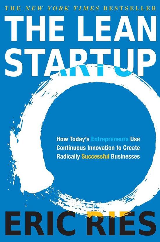 Boek cover The Lean Startup van Eric Ries (Hardcover)
