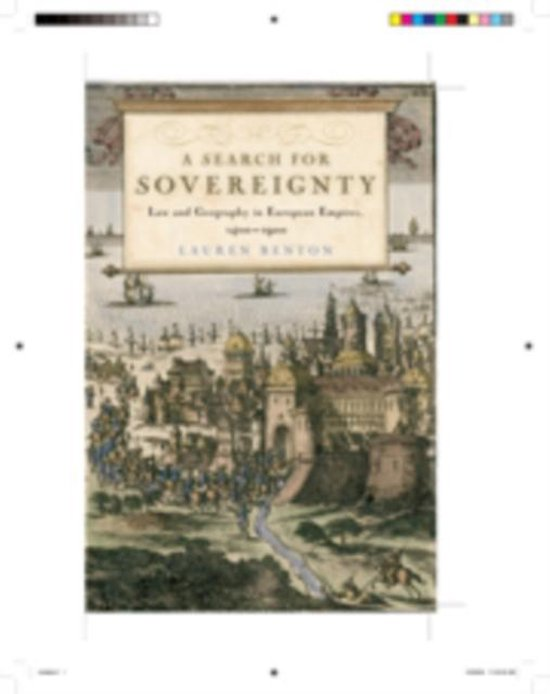 Boek cover A Search for Sovereignty van Lauren Benton (Paperback)