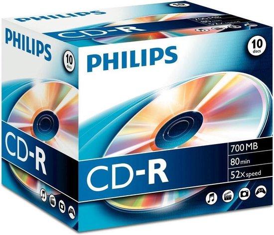 Philips 8710895778176 lege cd CD-R 700 MB 10 stuk(s)