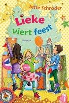 Boek cover Lieke viert feest van Jette Schröder