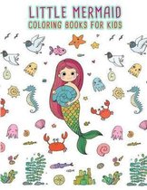 Little Mermaid Coloring Books For Kids