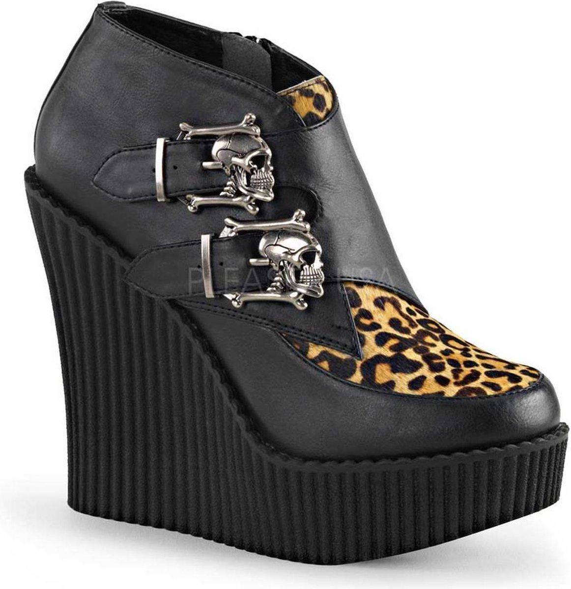 Demonia Sleehakken 40 Shoes POISON 101 US 10 Zwart