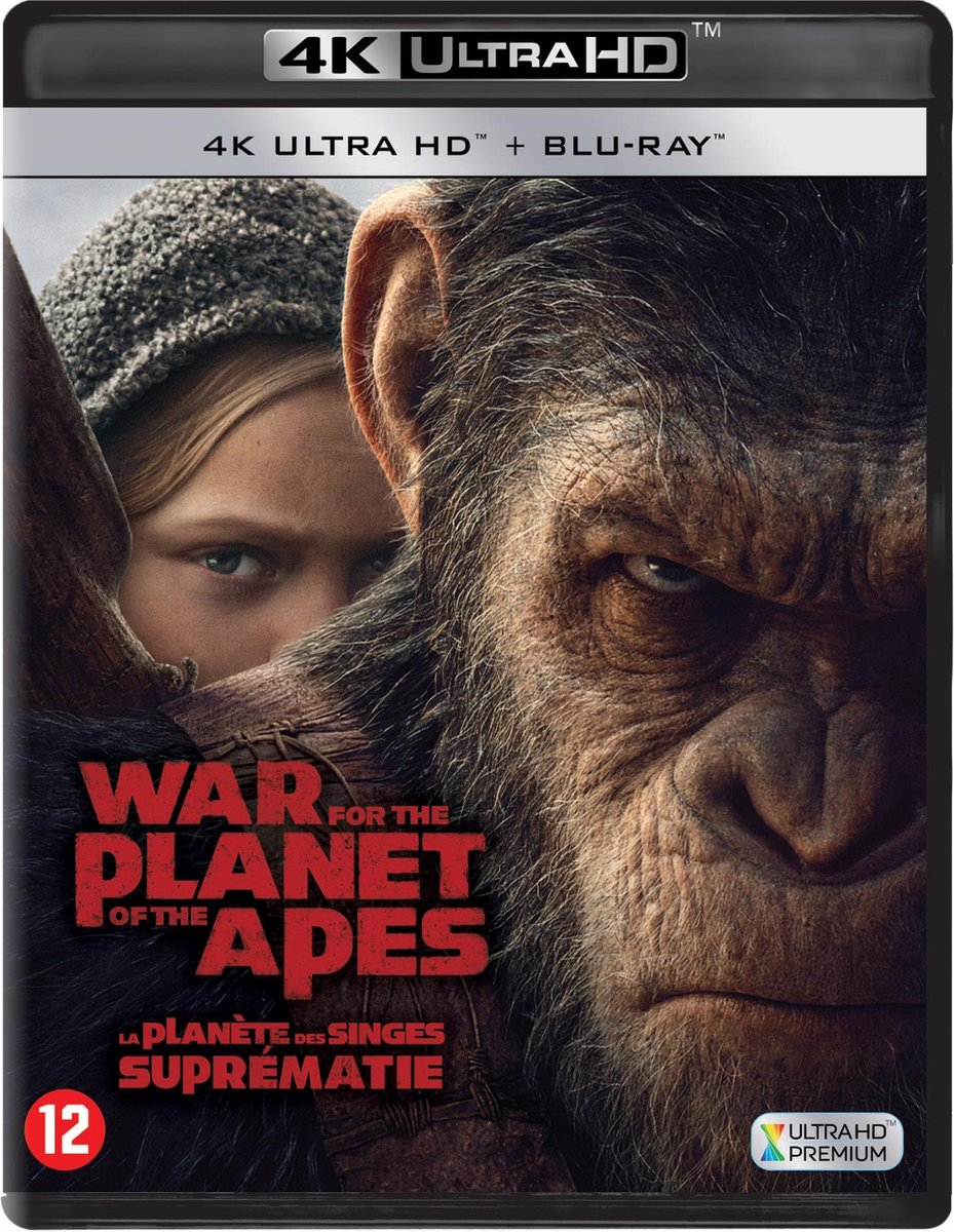War for the Planet of the Apes (4K Ultra HD Blu-ray)-