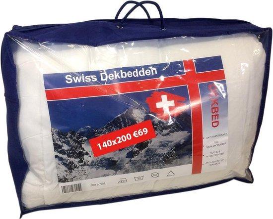 Swiss Dekbed - Eenpersoons Dekbed - Hotel kwaliteit