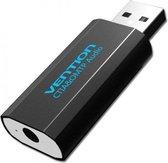 OMTP/CTIA USB externe geluidskaart naar 3.5mm audio microfoon AUX adapter