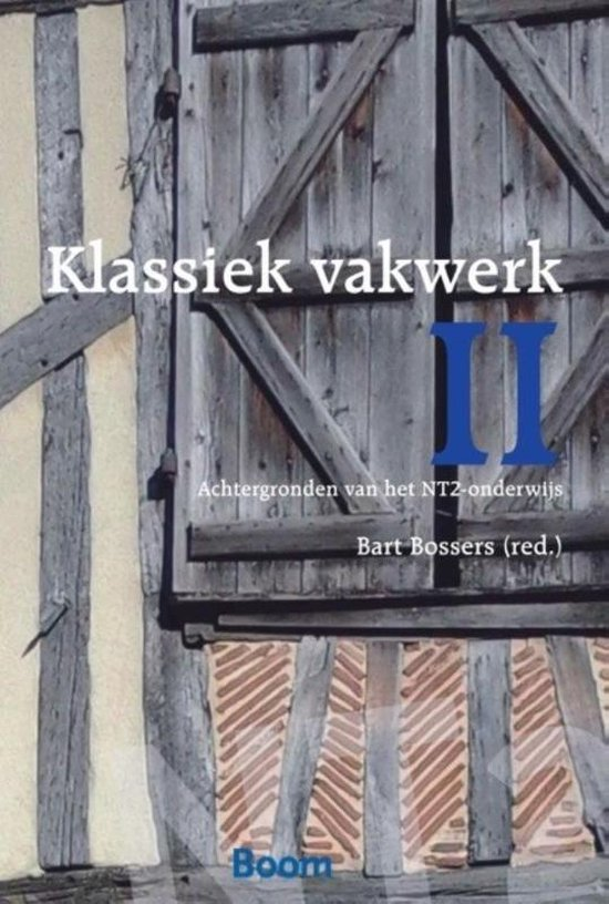 Boek cover Klassiek vakwerk 2 van