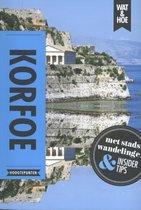 Boek cover Wat & Hoe reisgids  -   Korfoe van Wat & Hoe Hoogtepunten