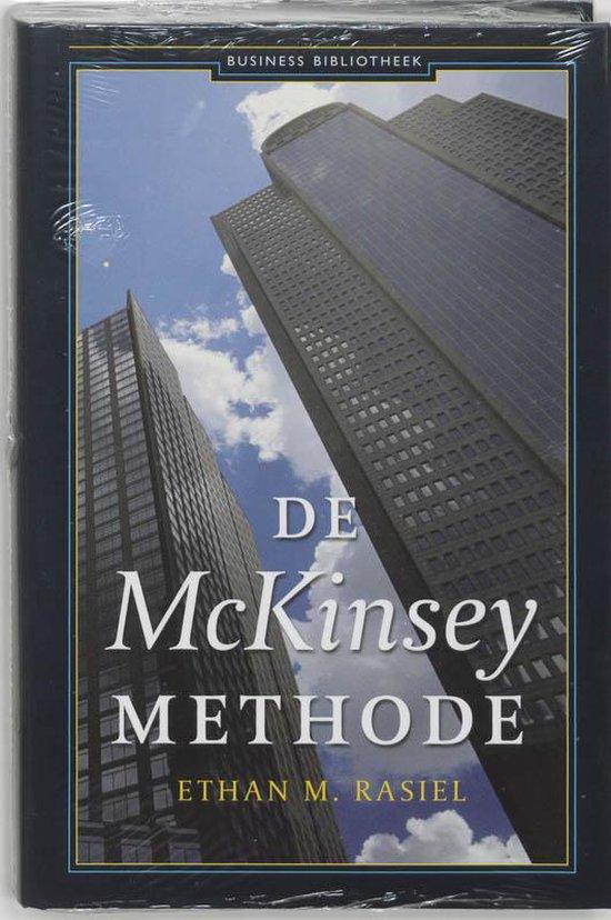 Boek cover Mckinsey Methode van Ethan M. Rasiel (Hardcover)