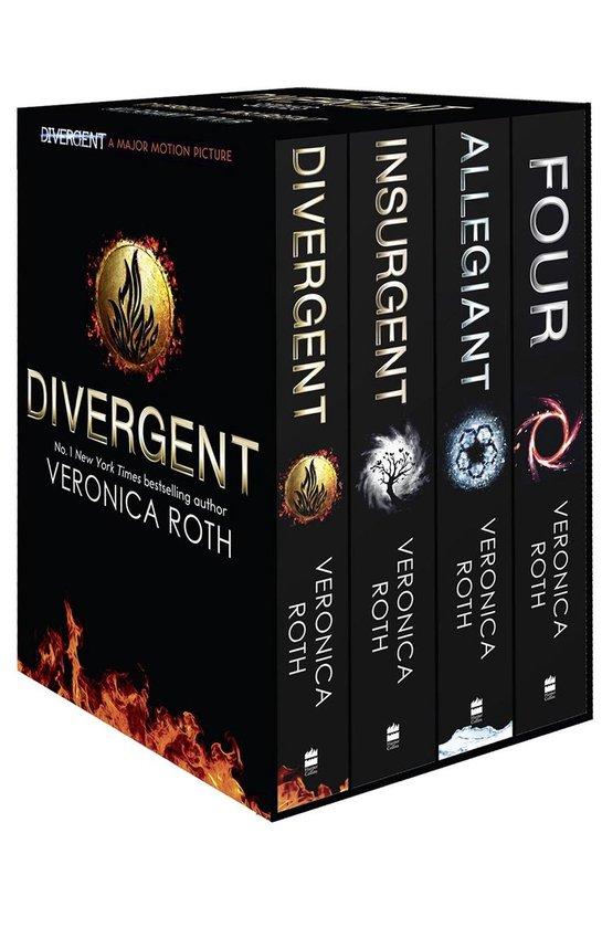 Boek cover Divergent Series Box Set van Onbekend (Paperback)