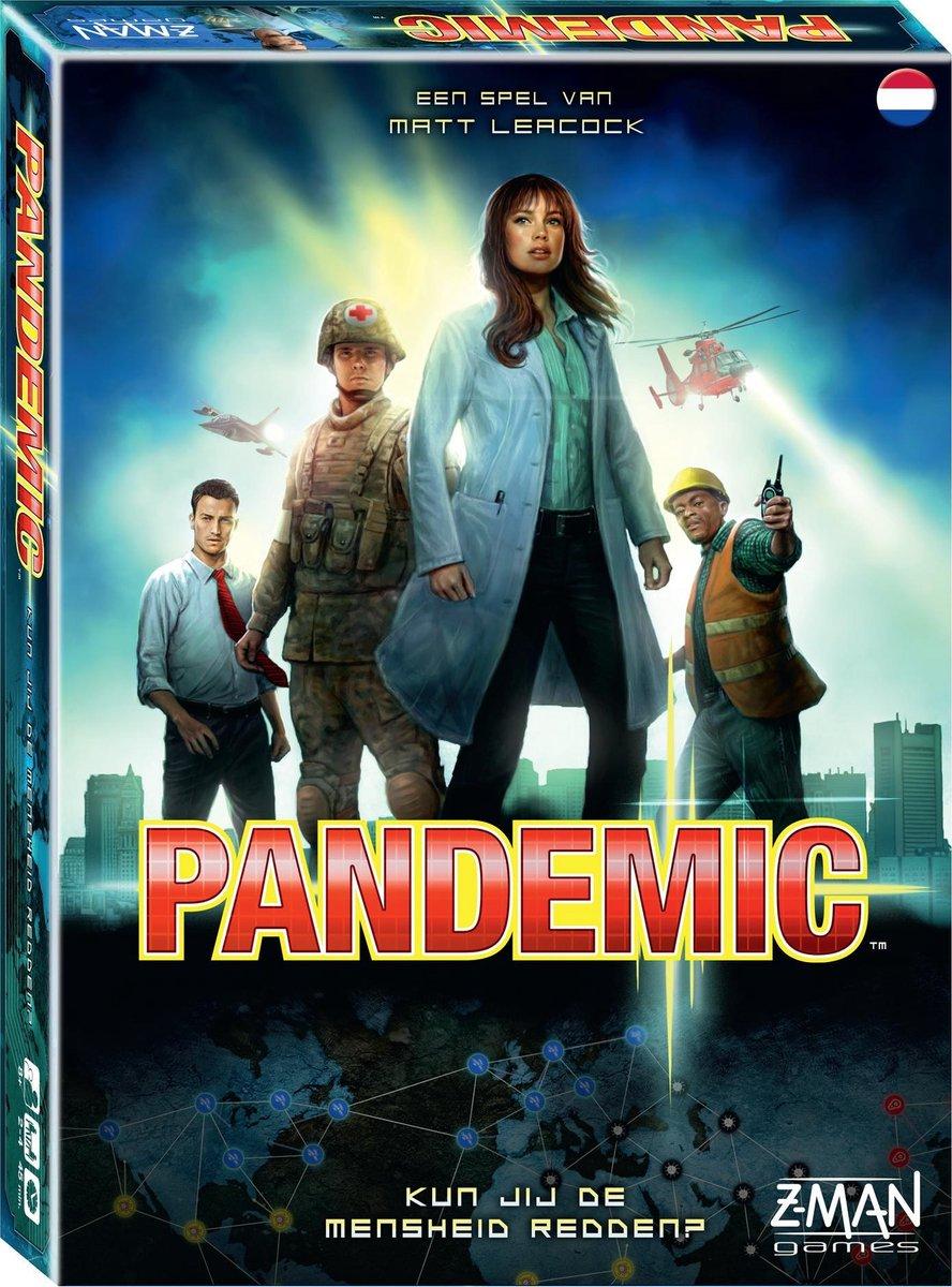 Pandemic NL - Bordspel - Z-Man Games