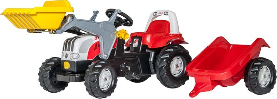 RollyKid Steyr Speelgoed Tractor Rolly Toys | Trapautodealer