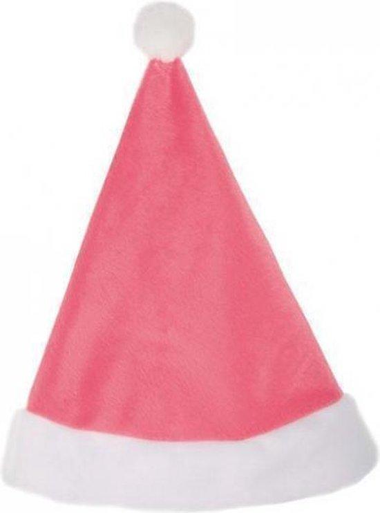 Roze kerstmuts