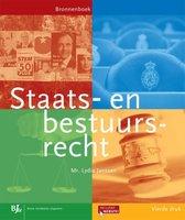 Boek cover Bronnenboeken MBO - Staats- en bestuursrecht van Lydia Janssen