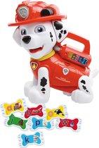 Afbeelding van VTech Preschool PAW Patrol Marshall Letterpret Reddingspup - Speelfiguur speelgoed