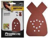 Piranha Schuurstroken Mouse, 120K 5 stuks X31009