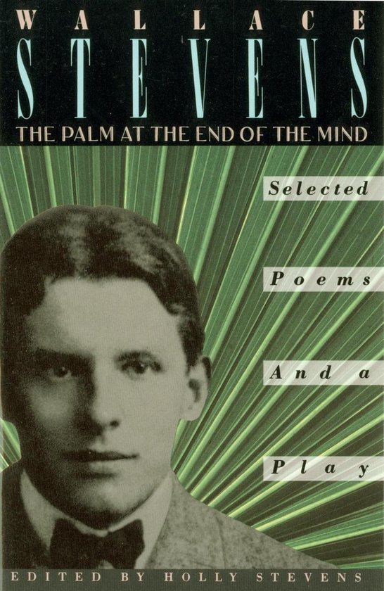 Boek cover The Palm at the End of the Mind van Wallace Stevens (Onbekend)