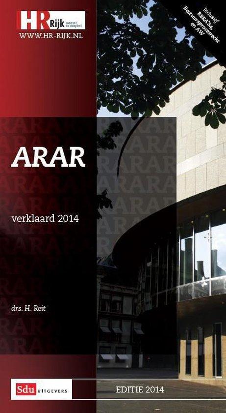 2014 ARAR verklaard - H. Reit  