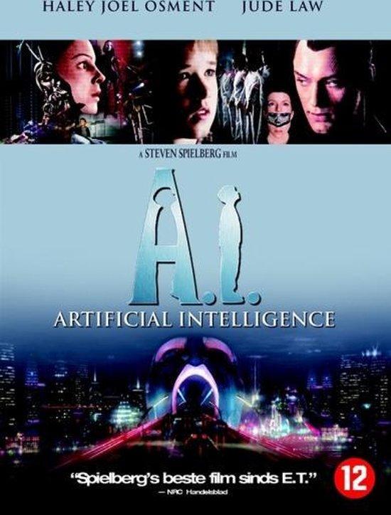 Cover van de film 'A.I. Artificial Intelligence'