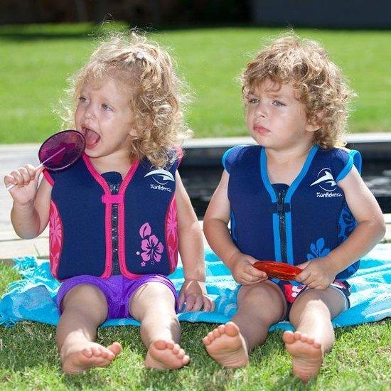 Konfidence - Zwemvest/Drijfvest kind - Roze - 4-5 jaar / 20-25 kg