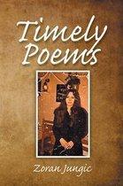 Omslag Timely Poems