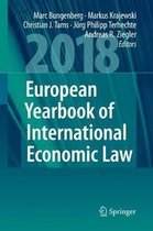 Boek cover European Yearbook of International Economic Law 2018 van  (Hardcover)