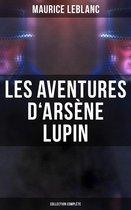 Omslag Les Aventures d'Arsène Lupin - Collection Complète